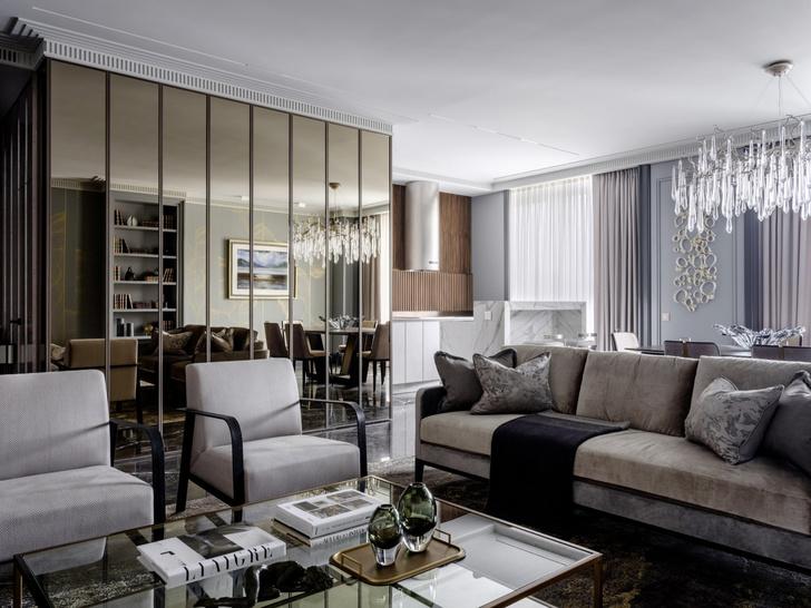 Благородная седина: квартира 130 м² в Москве (фото 0)