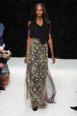 Показы мод Vera Wang Весна-лето 2015 | Подиум на ELLE - Подиум - фото 4081