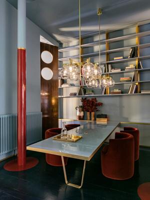Клуб любителей винтажа: пять комнат в Лондоне от Dimore Studio (фото 2.1)