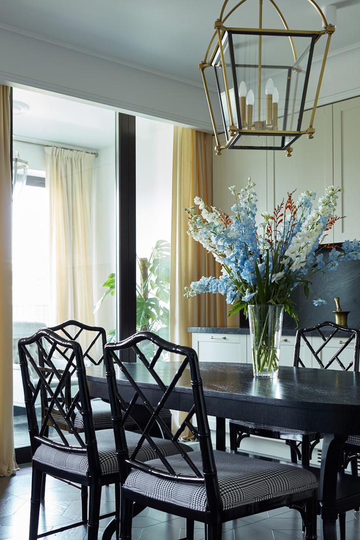 Жемчужно-голубая квартира для семьи из трех поколений фото [3]
