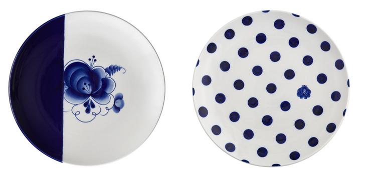 Знай наших: новая коллекция тарелок HALF&HALF фото [3]