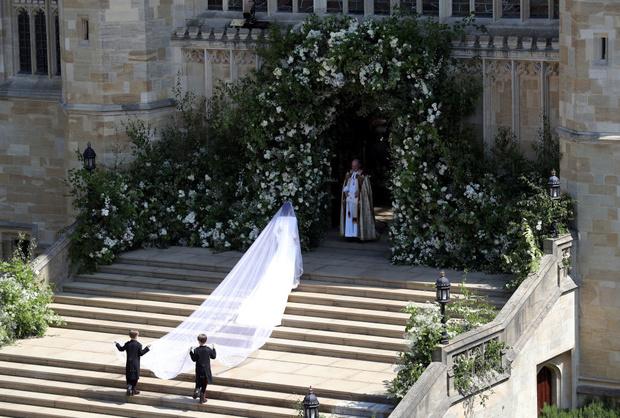 Свершилось! Принц Гарри и Меган Маркл стали мужем и женой (фото 5)