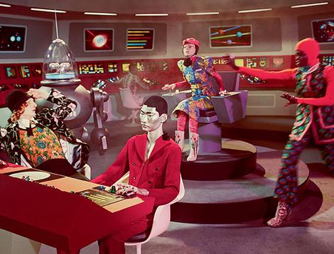 Звездный путь: новая космическая рекламная кампания Gucci | галерея [1] фото [5]