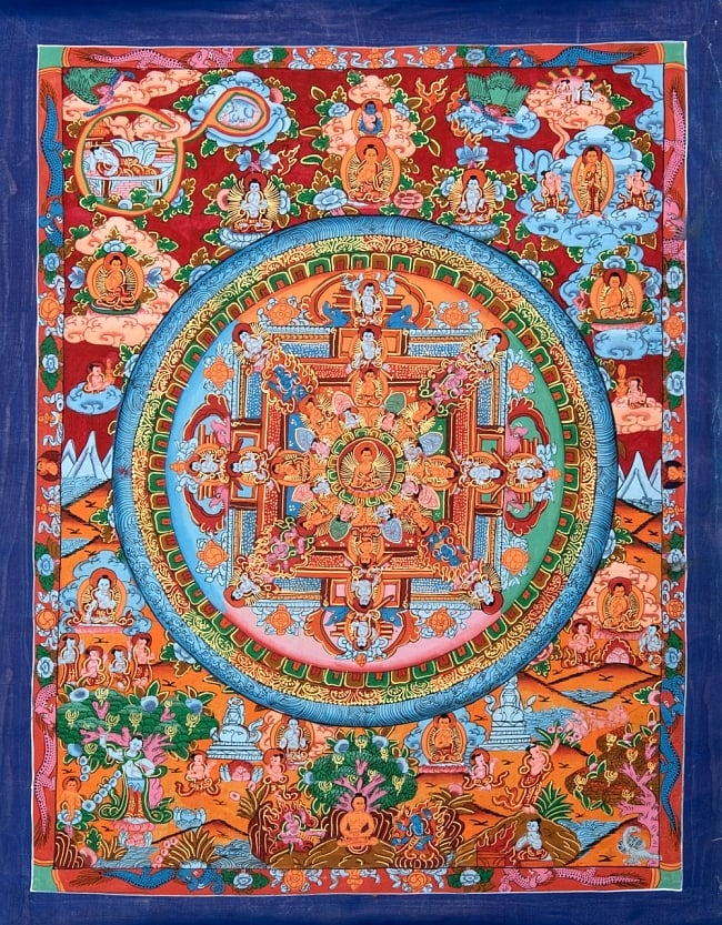 #Лучшедома: лекция о тибетской сакральной живописи (фото 3)