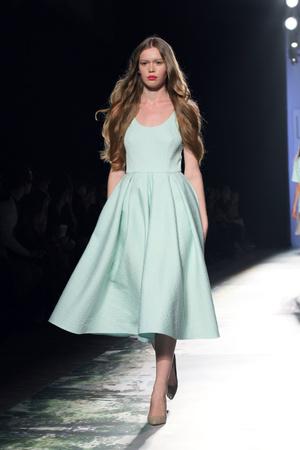 Показ Kira Plastinina коллекции сезона Весна-лето 2014 года prêt-à-porter - www.elle.ru - Подиум - фото 572961