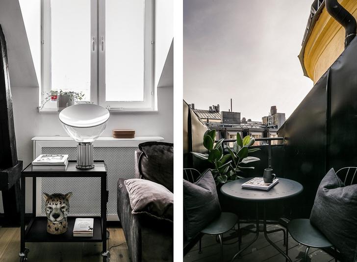 Под крышей дома: квартира модного блогера в Стокгольме (фото 6)