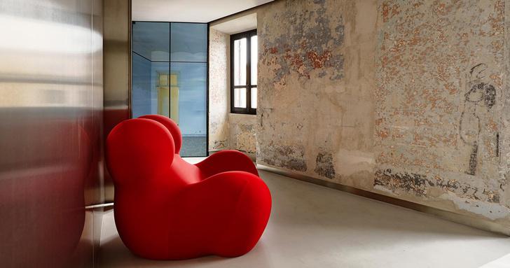Необычный отель от Жана Нувеля The Rooms of Rome (фото 4)
