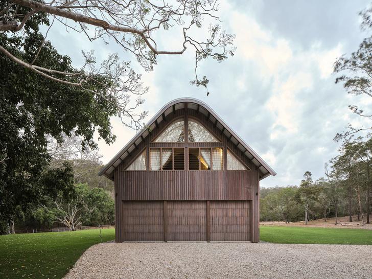 Домик в деревне: загородный дом в стиле Барнхаус в Австралии (фото 2)