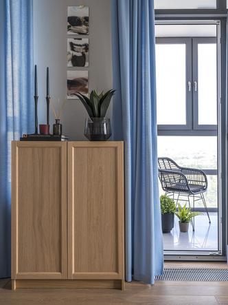 Этюд в синих тонах: двухкомнатная квартира в Москве (фото 3.2)