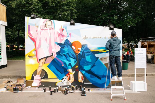 Художник Zmogk создал две работы, вдохновившись девайсами glo (фото 3)