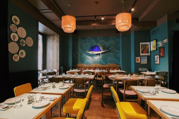 Топ 3: дизайнерские рестораны Уильяма Ламберти в Москве (фото 21)