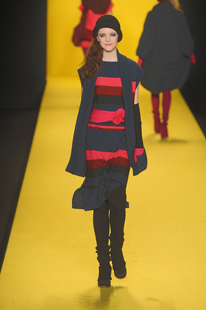 Показ Lacoste коллекции сезона Осень-зима 2010-2011 года prêt-à-porter - www.elle.ru - Подиум - фото 142188