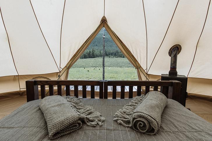 Новый романтизм: палаточный отель «Лес и море» в Калязине и на Алтае (фото 0)