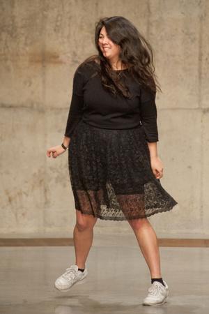 Показы мод Simone Rocha Осень-зима 2013-2014 | Подиум на ELLE - Подиум - фото 747