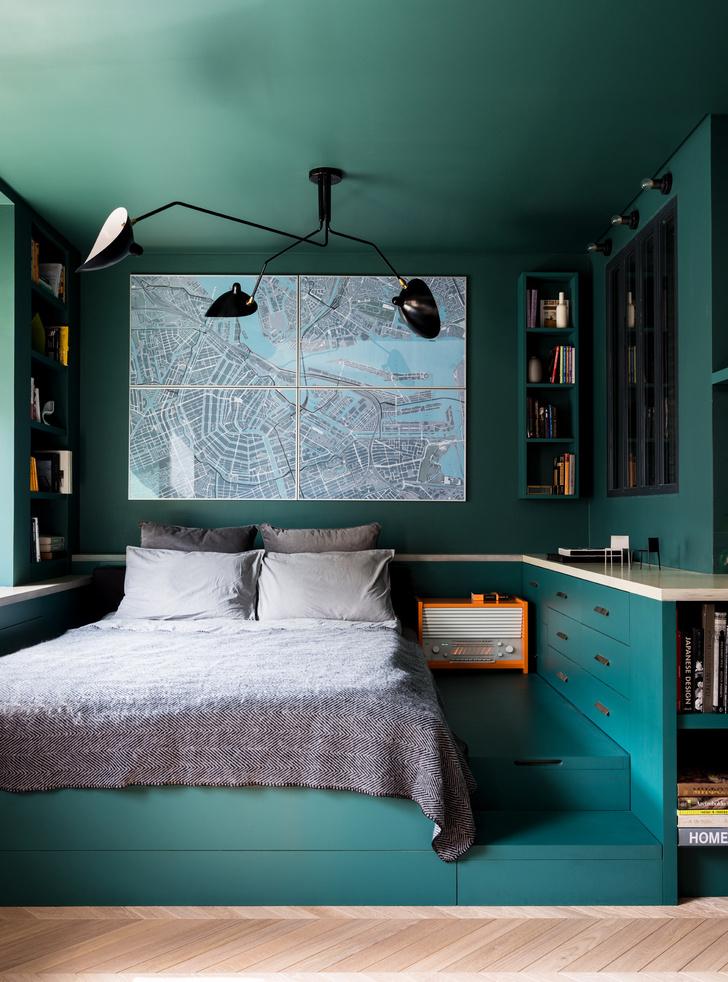 Маленькая спальня: 7 практичных решений (фото 12)