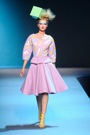 Показ Christian Dior коллекции сезона Осень-зима 2011-2012 года Haute couture - www.elle.ru - Подиум - фото 277101