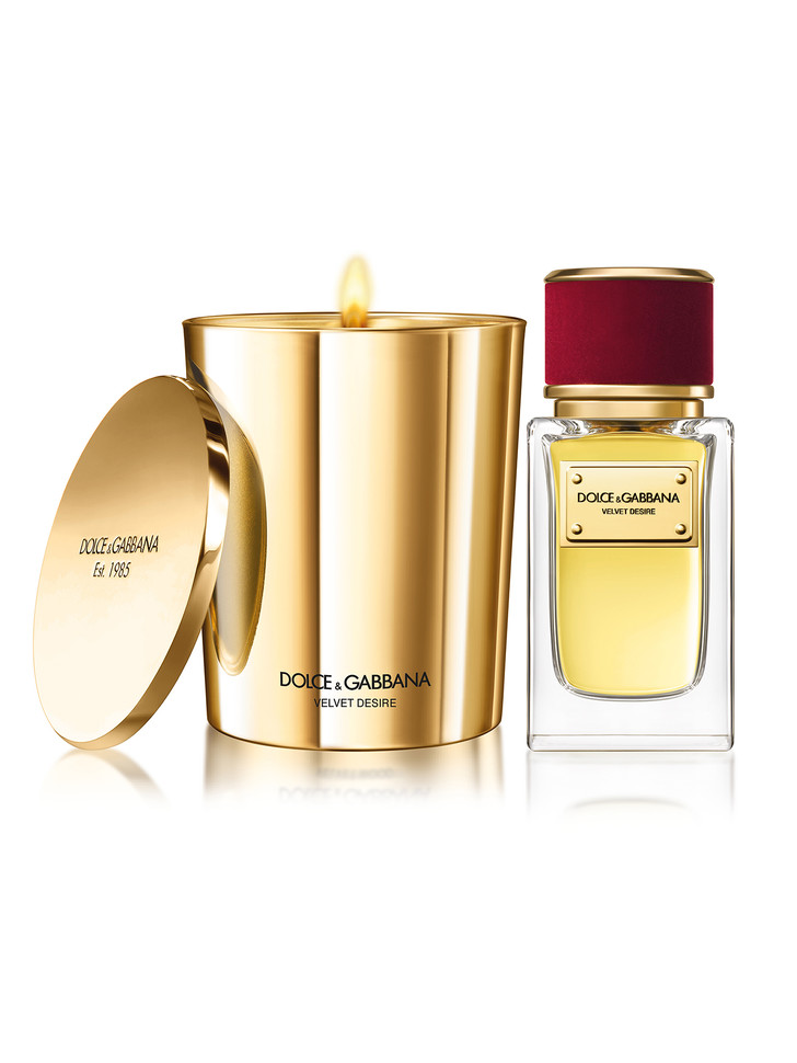 Ароматизированные свечи из коллекции Velvet Collection, Dolce&Gabbana