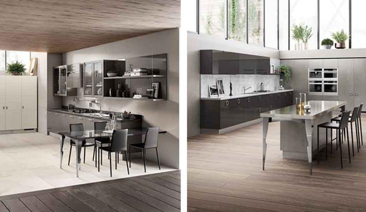 Новая кухня Exclusiva от Scavolini