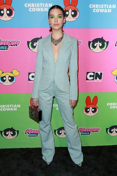Розовый фламинго —  Хайди Клум и Пэрис Хилтон на показе Christian Cowan (фото 2)