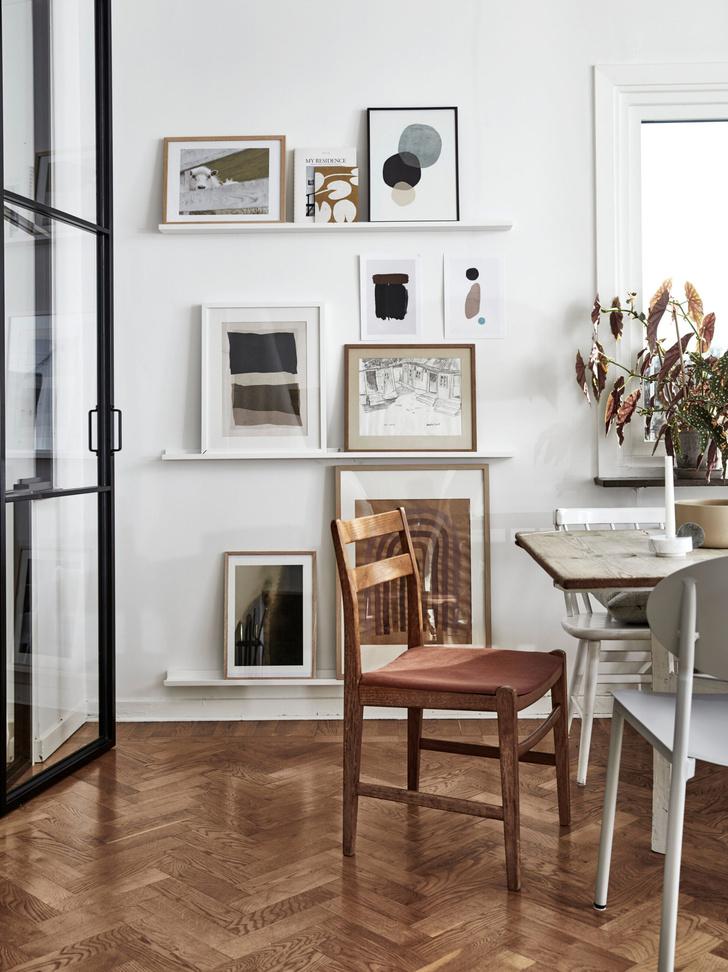 Светлая скандинавская квартира в Гетеборге (фото 5)