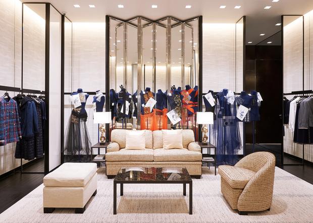 Обновленный бутик Chanel вТЦ«Крокус Сити Молл» (фото 3)