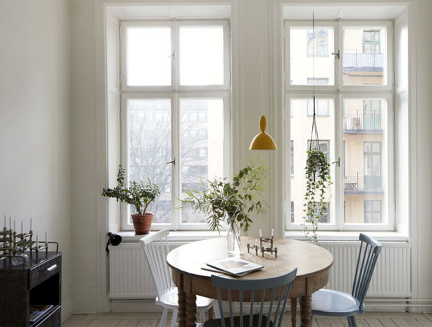Маленькая кухня-столовая: 12 практичных советов (фото 21)