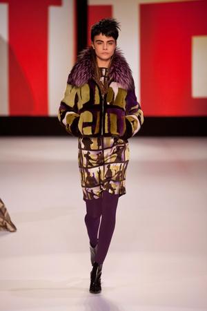 Показы мод Jean Paul Gaultier Осень-зима 2013-2014 | Подиум на ELLE - Подиум - фото 617