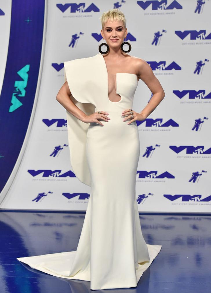 Кэти Перри в Stéphane Rolland Couture на MTV VMA 2017