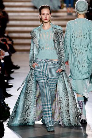Показы мод Missoni Осень-зима 2011-2012 | Подиум на ELLE - Подиум - фото 2207