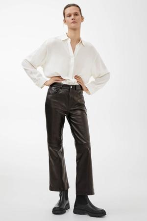 Кожаные брюки: какие купить и с чем носить (фото 11.2)