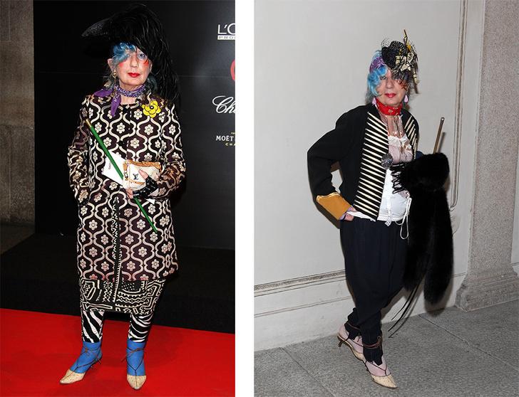 персонажи мира моды, чьи образы подойдут для Хэллоуина фото [5]