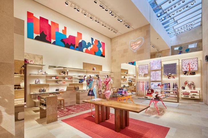 Бутик Louis Vuitton в Лондоне (фото 2)