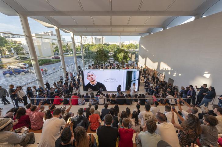 Новый бутик Apple в Майами по проекту Foster+Partners (фото 5)