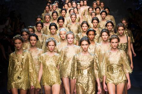 Dolce & Gabbana весна-лето 2014
