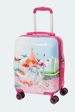 Модный детский чемодан