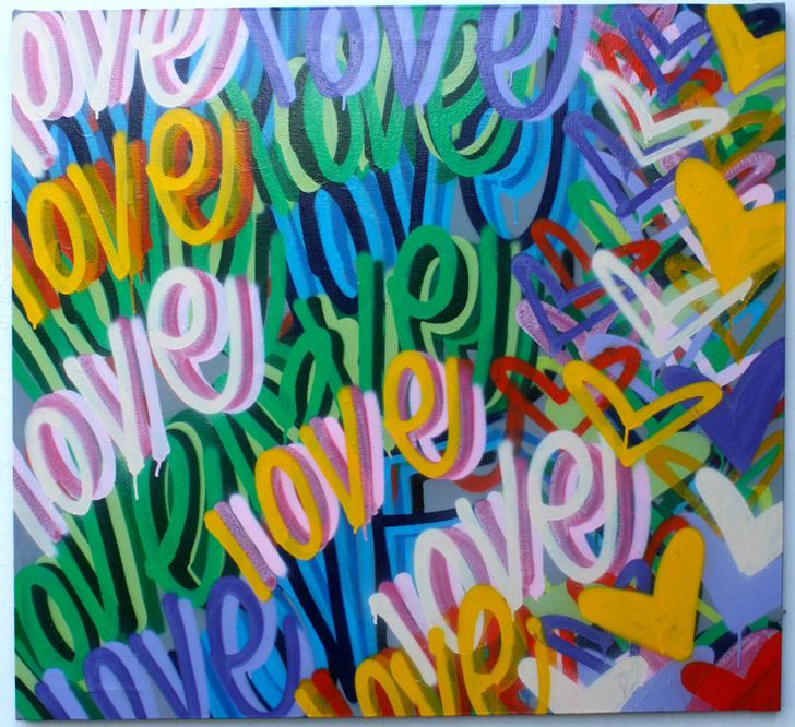 Открылась персональная выставка Криса Риггса «Love.Street.Art.»