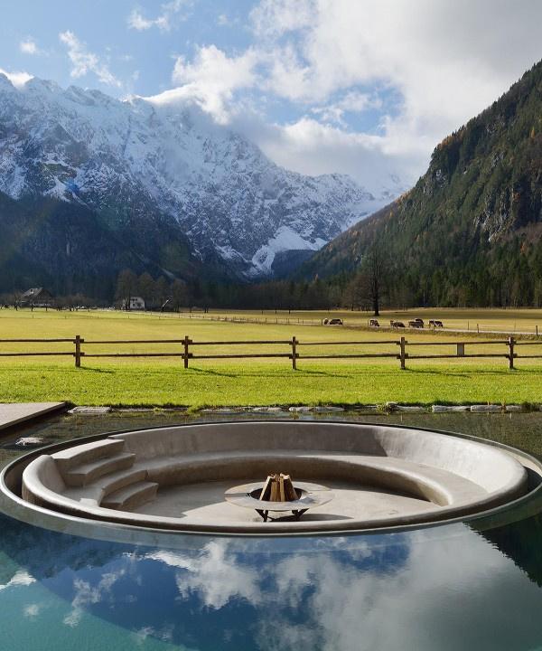 Семейный бутик-отель с велнес-центром в Альпийской Словении