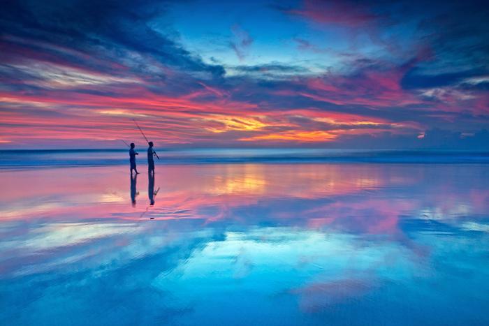 Закаты на Бали