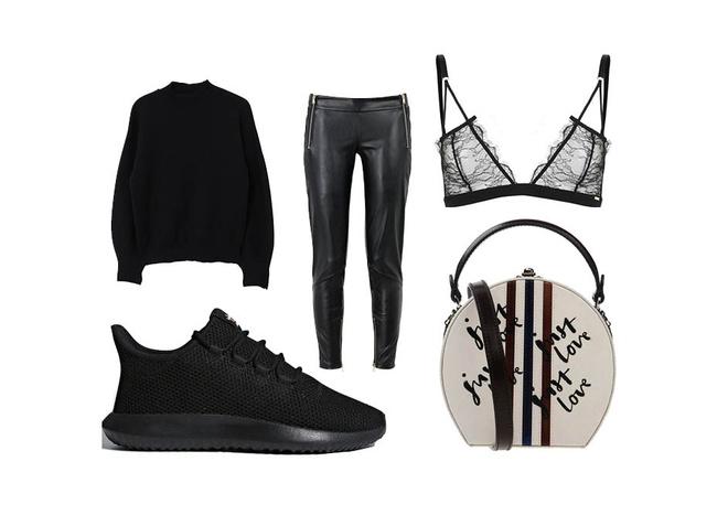 Эффект домино: как носить черные и белые вещи (фото 1)