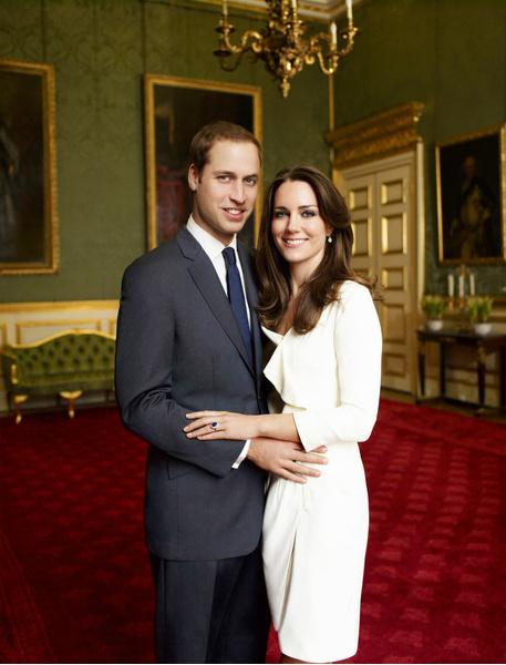 История любви Кейт Миддлтон и принца Уильяма в фотографиях | галерея [2] фото [2]