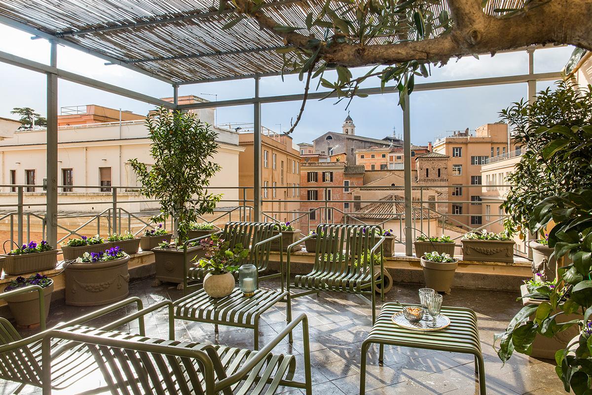 Комната в Риме: уютный бутик-отель в духе кондоминиума (галерея 15, фото 1)
