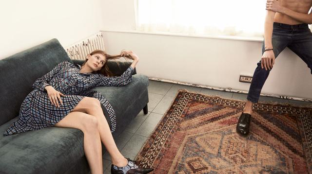 Рекламная кампания pre fall коллекции Gucci 2015