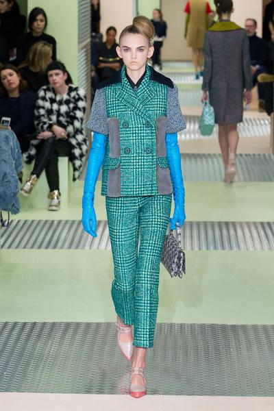 Показ Prada на Неделе моды в Милане | галерея [1] фото [30]
