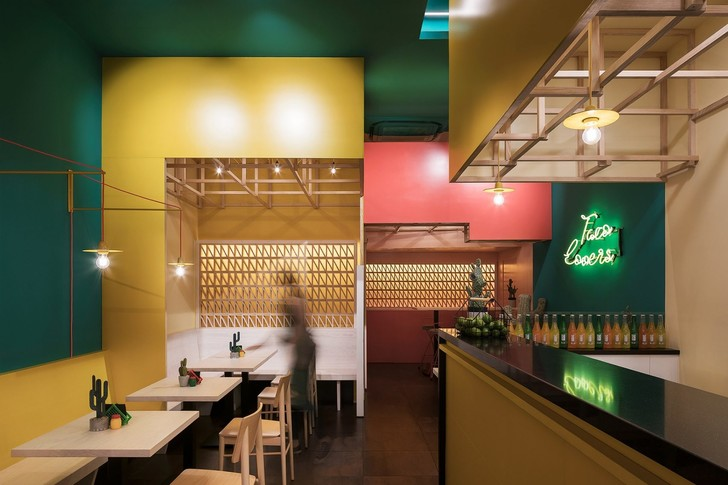 Erbalunga Estudio creates restaurant interior inspired by its Mexican menu (фото 7)