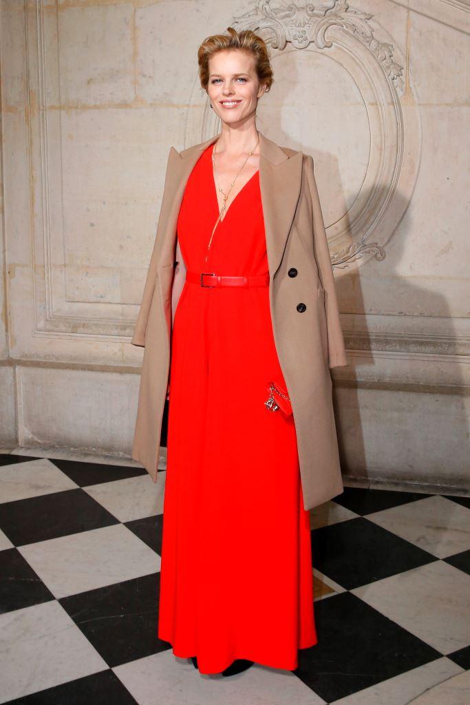 Ева Герцигова в Dior