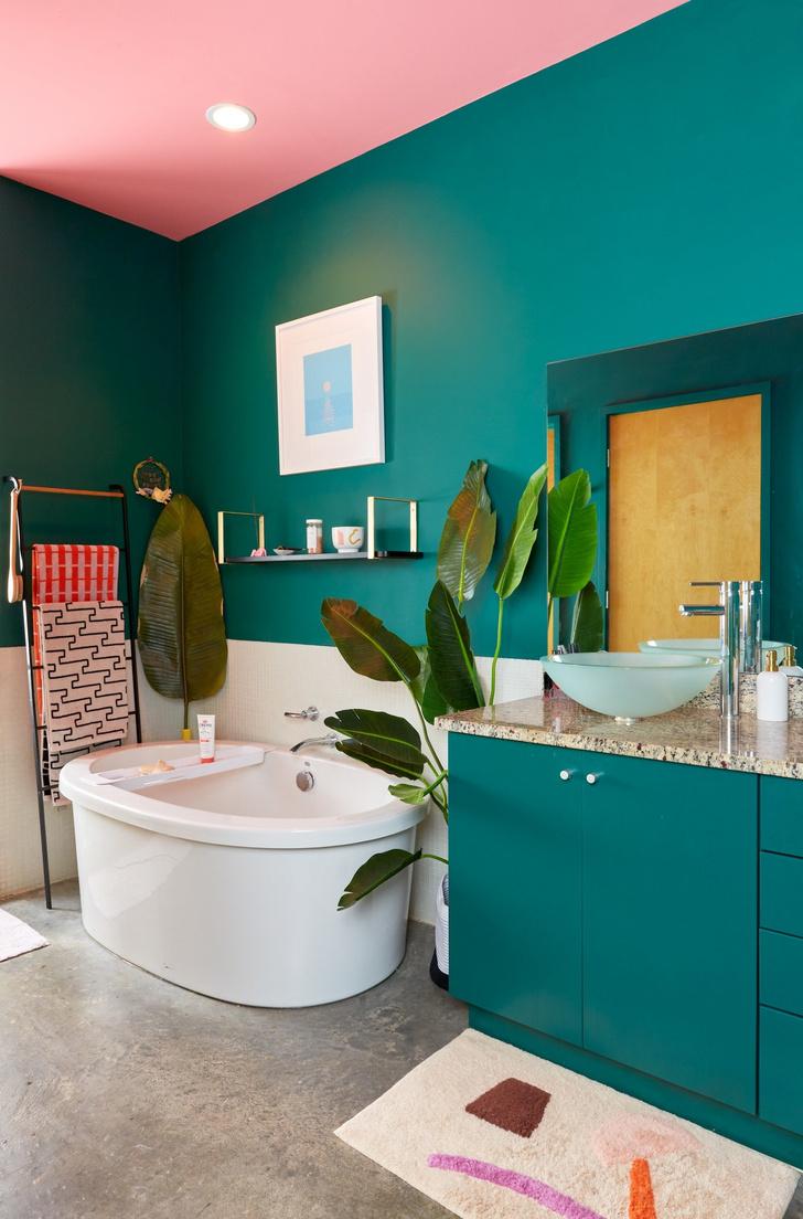 Тропический рай: дом для творческой пары в Атланте (фото 12)