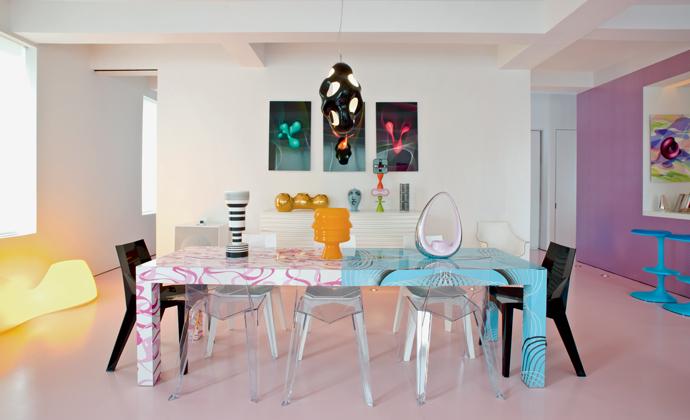 Прозрачные стулья в интерьере: 20+ примеров (галерея 1, фото 25)