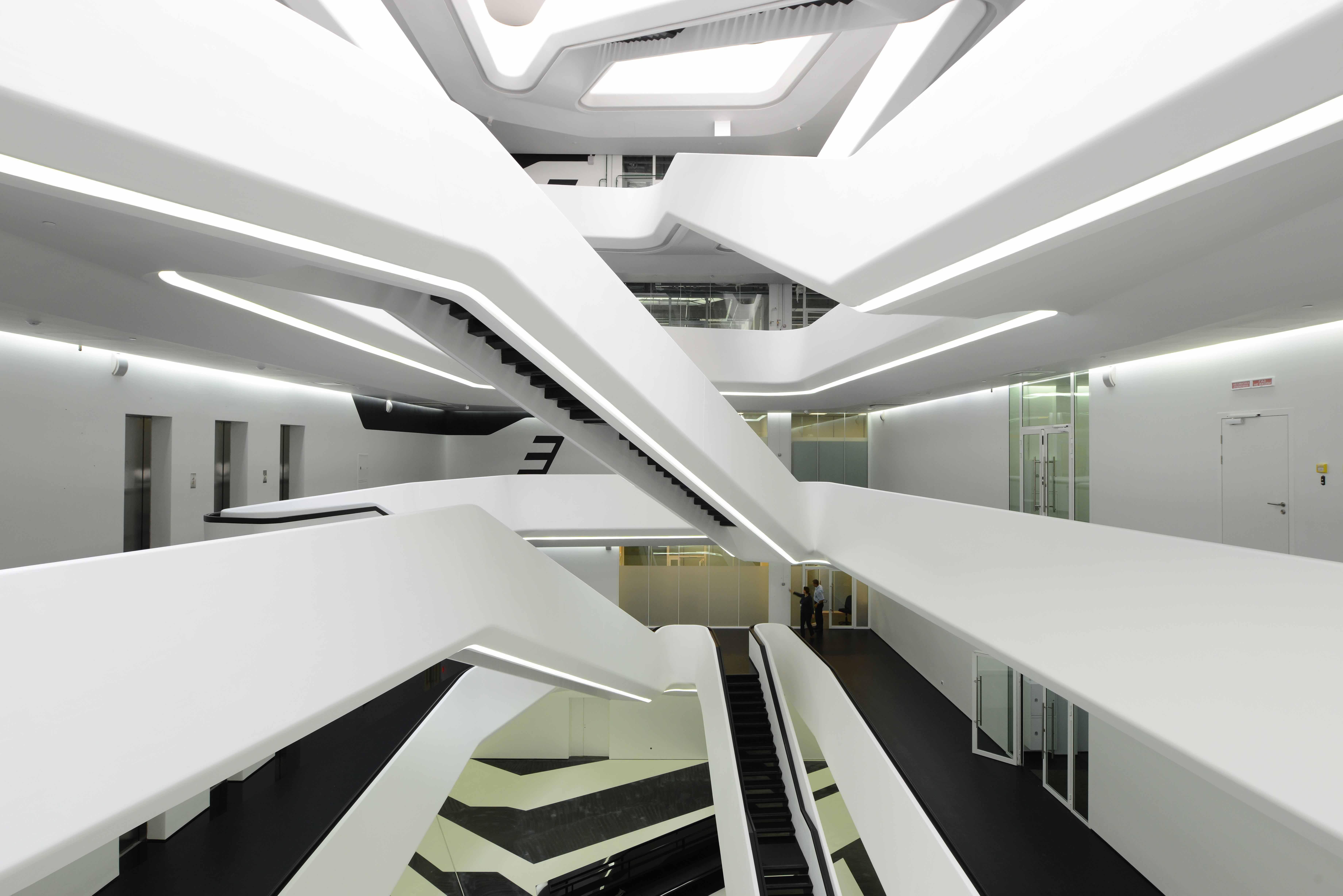 Первая в Москве постройка от Захи Хадид | галерея [1] фото [4]
