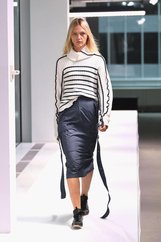 Четыре показа Саши Пивоваровой на Неделе моды в Нью-Йорке (фото 3)