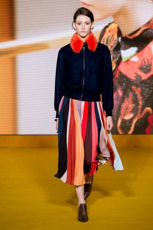 Показы мод Paul Smith Осень-зима 2016-2017 | Подиум на ELLE - Подиум - фото 4517